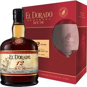 El Dorado 12Y 0,7l 40% + 1x sklo GB
