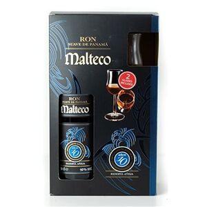 Malteco 10Y 0,7l 40% + 2x sklo GB