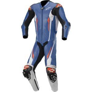 Alpinestars Racing Absolute Tech-Air Jeden kus perforované Moto kožený oblek 44 Černá Bílá Modrá