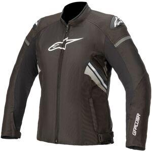 Alpinestars Stella T-GP Plus V3 Dámské motocyklové textilní bundy L Černá Bílá