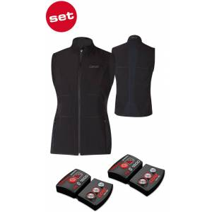 Lenz Lithium Pack rcB 1800 Bluetooth + 1.0 Heatable Vest Vyhřívatelná vesta L Černá