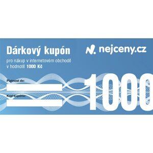 Dárkový kupón NEJCENY - 1000Kč