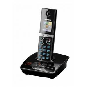 Panasonic KX-TG8061FXB - bezdrátový telefon se záznamníkem, černý