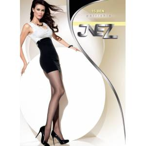 Inez Dámské punčochové kalhoty Inez Patrishia 15 den 5XL-6XL vydra 5-XL