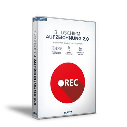 FRANZIS.de (ausgenommen sind Bücher und E-Books) Bildschirm-Aufzeichnung 2.0