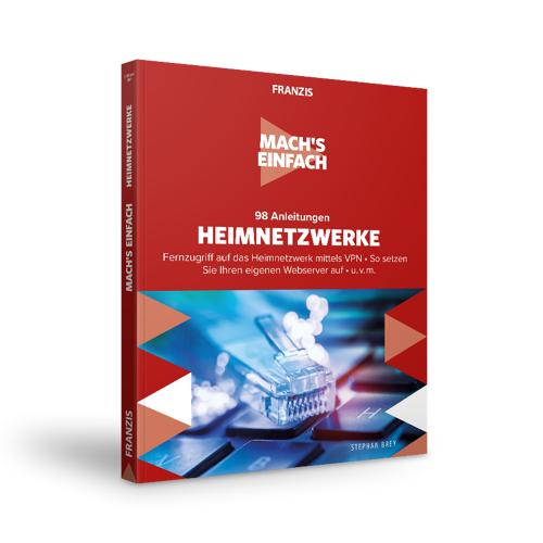 FRANZIS.de - mit Buch 98 Anleitungen Heimnetzwerke - Mach's einfach