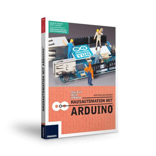 FRANZIS.de - mit Buch Hausautomation mit Arduino