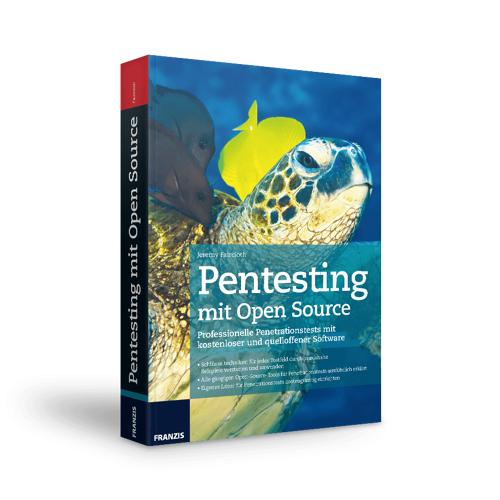 FRANZIS.de - mit Buch Pentesting mit Open Source