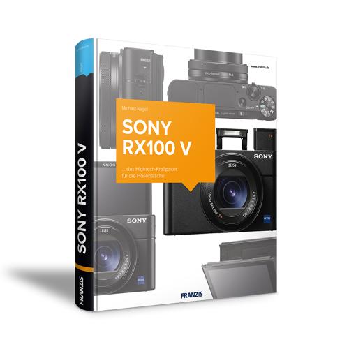 FRANZIS.de - mit Buch Sony RX100 V - Das Kamerabuch