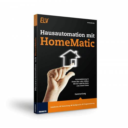 FRANZIS.de - mit Buch Hausautomation mit HomeMatic