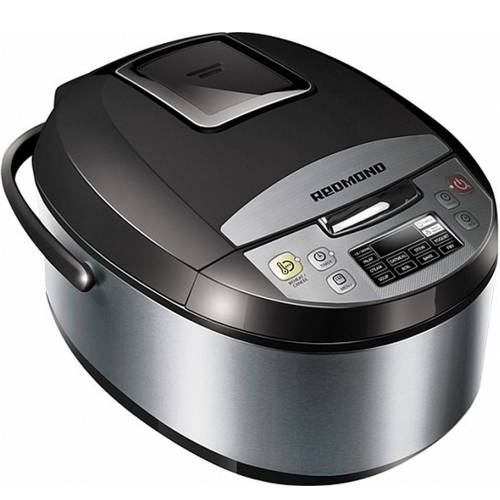 Redmond RMC-M4500 - Multikocher, schwarz, inkl. Kochbuch