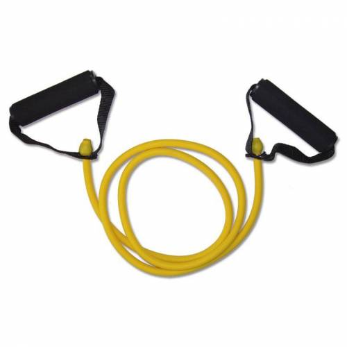 Megafitness Shop Tube Deluxe Handle Stretchband Gelb