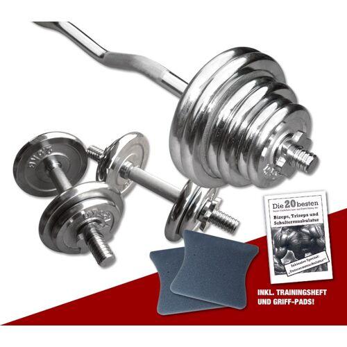 Megafitness Shop Chrom - Super-Curl Set 47 kg