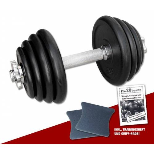 Megafitness Shop Kurzhantel-Set 15 kg - 13-fach verstellbar