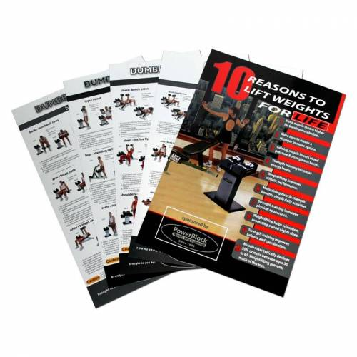 PowerBlock Inc. Powerblock Poster Set