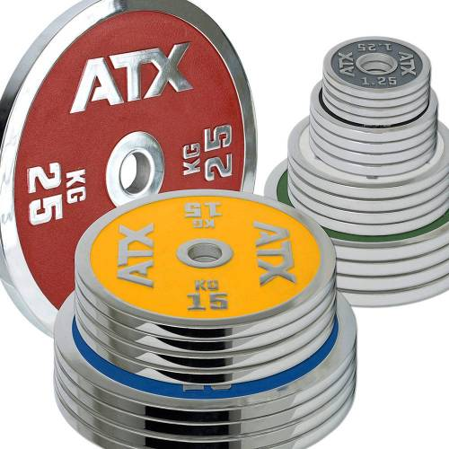 ATX Vorteilspaket! 200 KG ATX® Powerlifting Hantelscheiben - Sortierung frei wählbar!