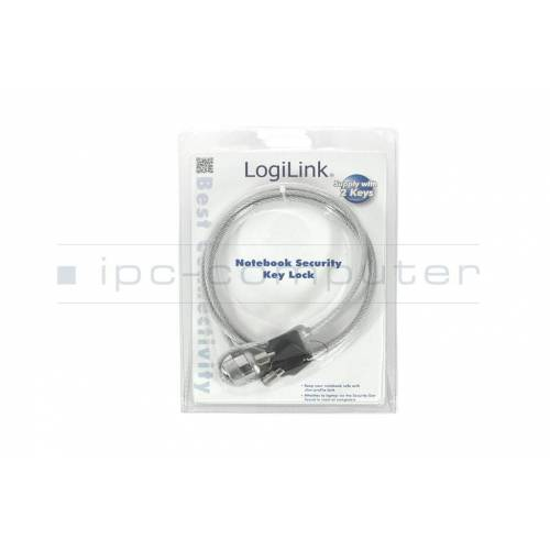LogiLink NBS003 Notebook Diebstahlsicherung / Kensington-Lock