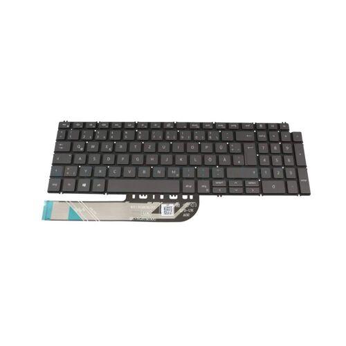 Dell NSK-QF0BW Tastatur DE (deutsch) grau mit Backlight Original