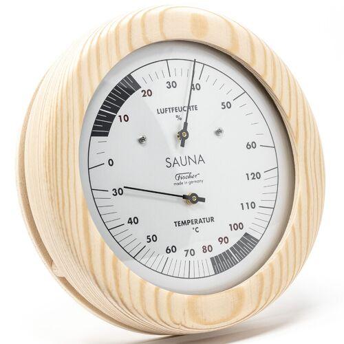 Fischer Wetterstation Sauna-Thermohygrometer