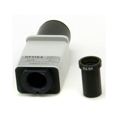 Optika Kamera-Adapter SZ-PH, Fototubus mit SZ-PK T2-Ring Adapter und SEPhon4 Foto-Okular für SZR