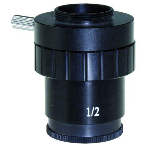 Euromex Kamera-Adapter Photoadapter SB.9850, C-Mount-Adapter, 0.5x, für 1/2'' für SteroeBlue