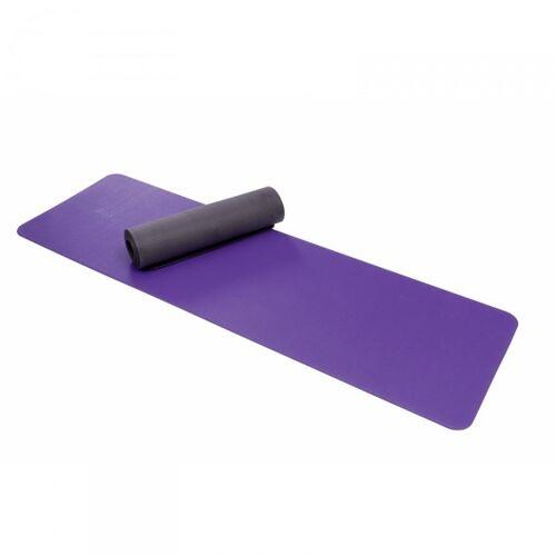 AIREX Pilates- und Yogamatte Anthrazit Lila