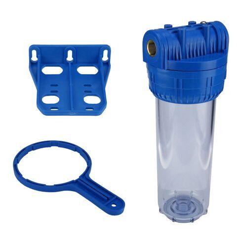 Aquafilter Wasserfiltergehäuse Untertisch 10 Zoll 3-teilig 1/2