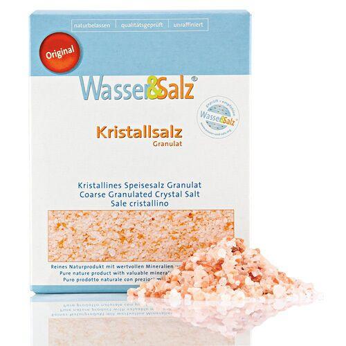 Water&Salt AG Punjab Kristallsalz Granulat 1kg Original Wasser&Salz