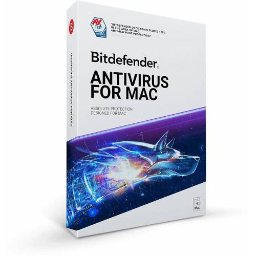 Bitdefender GmbH Bitdefender ANTIVIRUS FOR MAC 2019, 1 MAC - 2 Jahre, Download
