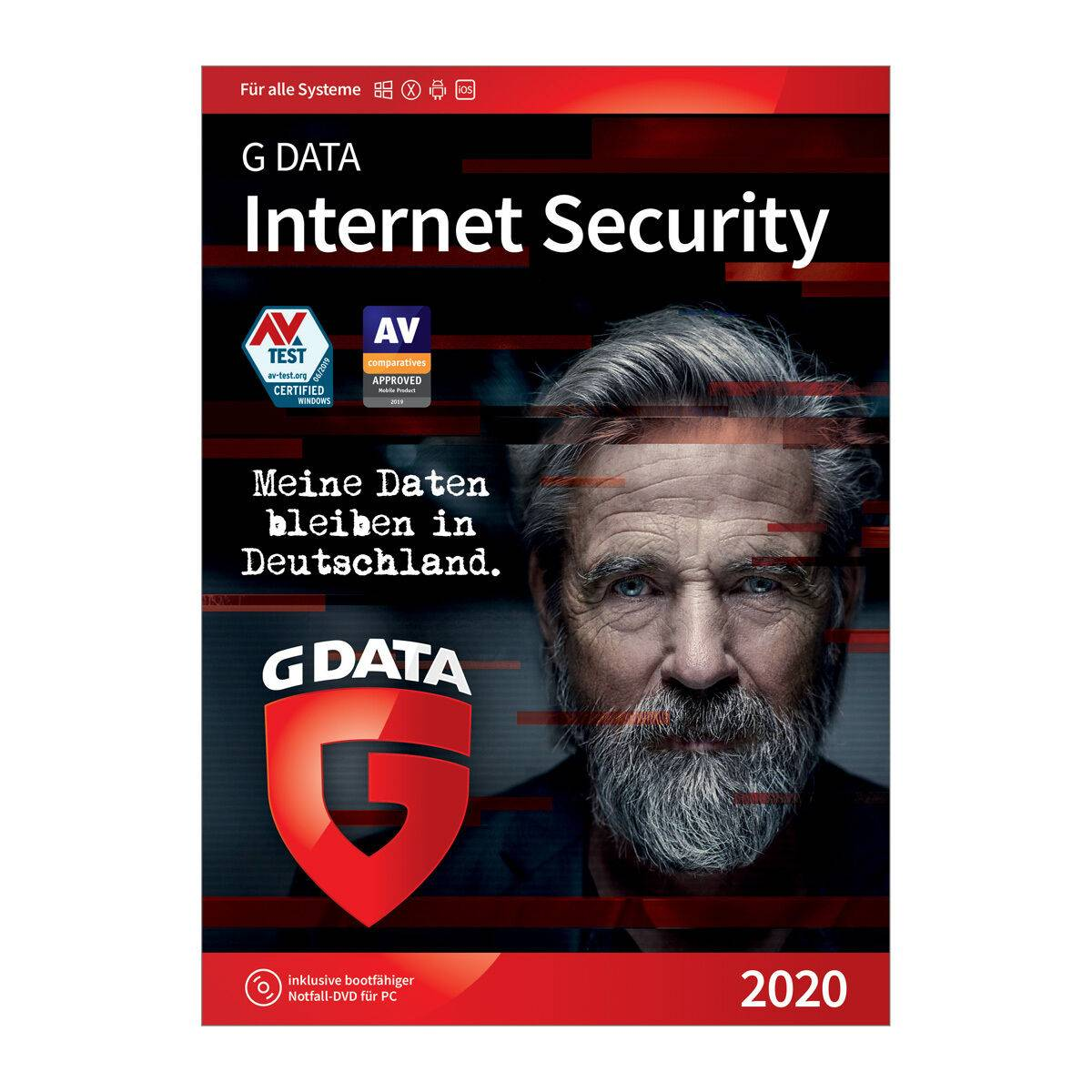 G Data Software AG G DATA Internet Security 2019, 1PC / 1 Jahr, Download