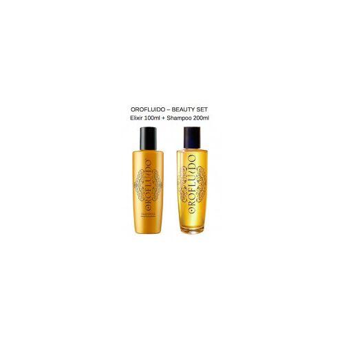 Revlon Orofluido - AKTION Set - Beauty Elixir + Gratis Shampoo