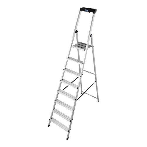KRAUSE MONTO Leiter Safety Haushaltsleiter Stehleiter 8 Stufen