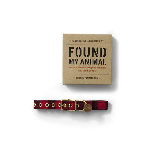 Lands' End FOUND MY ANIMAL Hundehalsband - Rot - S von Lands' End