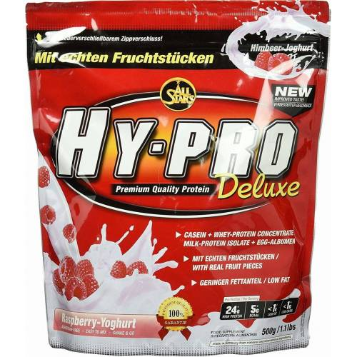 All Stars HY-PRO Protein Deluxe 500 g Beutel - Raspberry-Joghurt-Smoothie