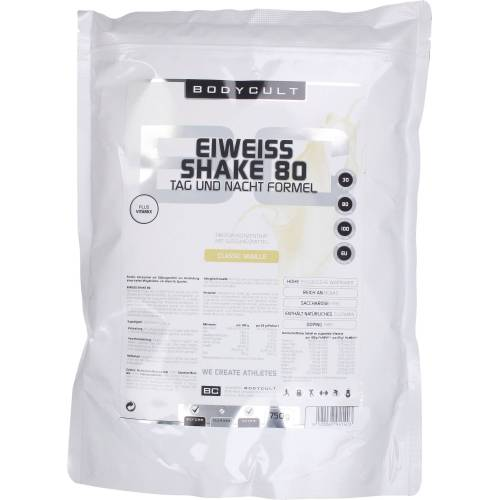 BODYCULT Nutrition BC Eiweiß Shake 80 - Classic Vanille
