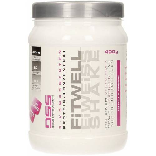 DSS Fitwell Eiweiss Shake - Vanille - Creme