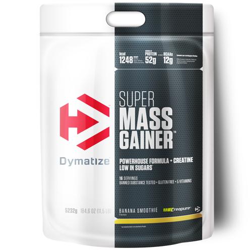 Dymatize Super Mass Gainer 5,2 kg - Banana Smoothie