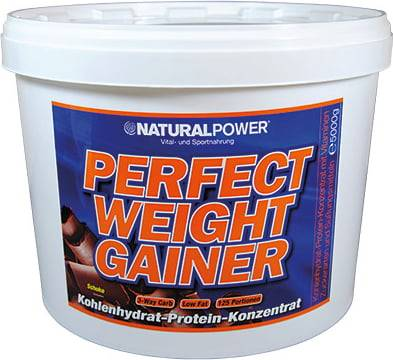Natural Power Perfect Weight Gainer - Schoko