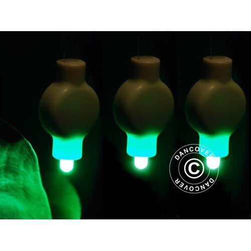 Dancover LED Partylicht für Papierlaterne, 20 Stück, Grün