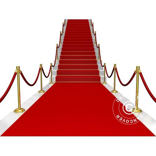 Dancover Roter Teppichläufer, 1x6m, 400g