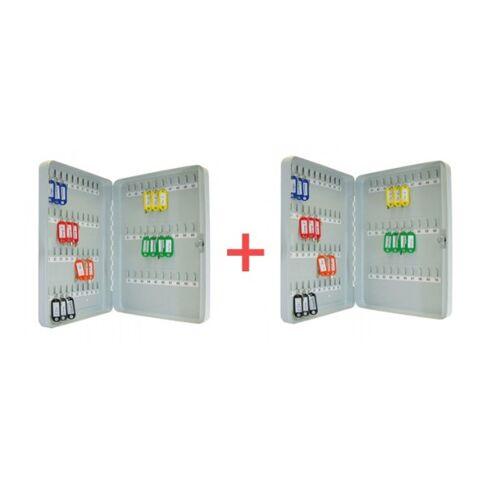 B2B Partner Schlüsselschrank 1+1 gratis, 80 schlüssel