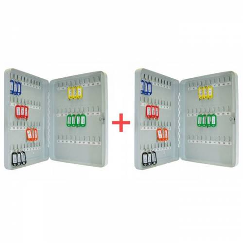 B2B Partner Schlüsselschrank 1+1 gratis, 100 schlüssel