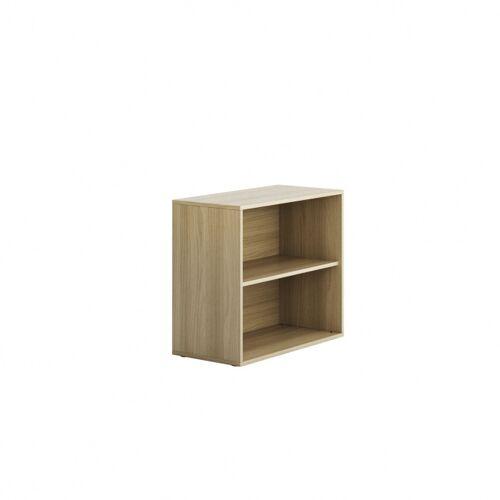 PLAN Niedriger schrank offen kurz block wood