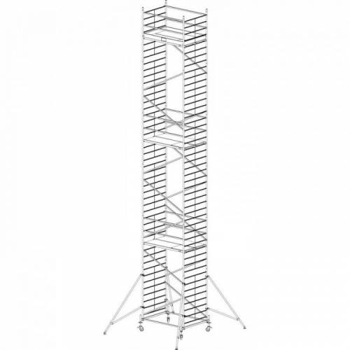 KRAUSE Mobiles alu-gerüst protec xxl 13,3 m