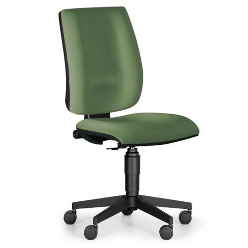 Antares Bürostuhl figo ohne armlehnen, dauerkontakt-rückenlehne, grün