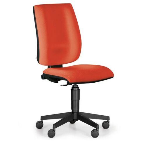 Antares Bürostuhl figo ohne armlehnen, dauerkontakt-rückenlehne, rot