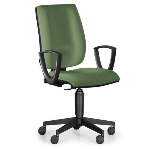 Antares Bürostuhl figo, dauerkontakt-rückenlehne, grün