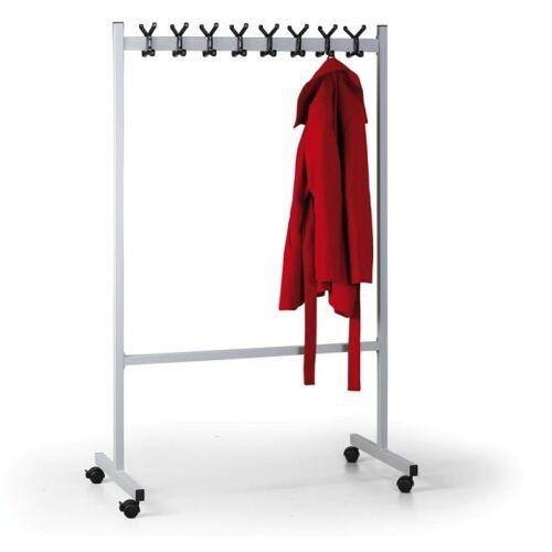B2B Partner Mobiler kleiderständer, grau