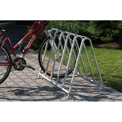 B2B Partner Fahrradständer für 5 räder, zweiseitig