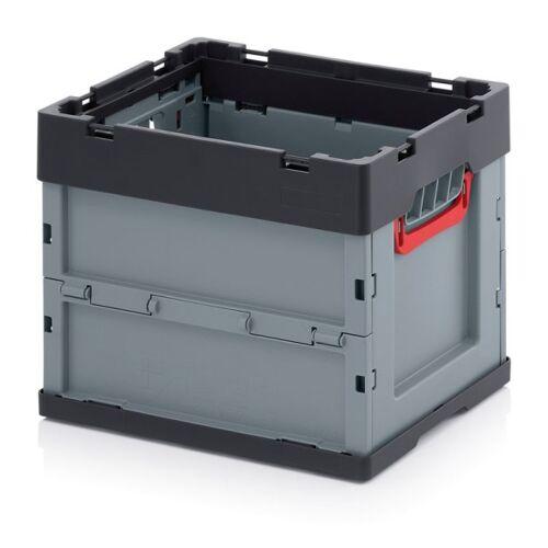 AUER Klappbare kiste, ohne deckel, 400 x 300 x 320 mm